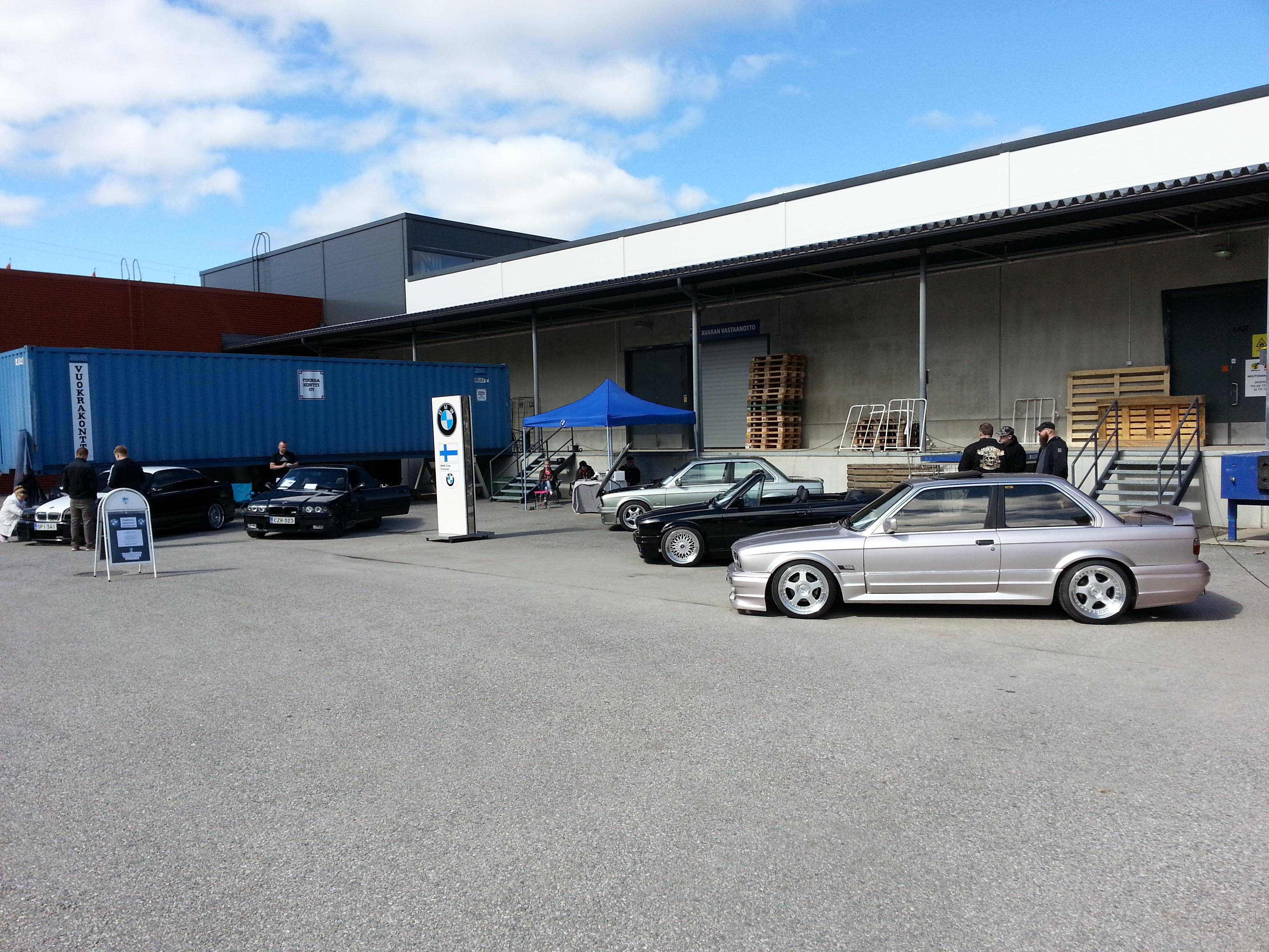 BMW Club Finnland:n osasto Backwoods Cruising 2015 tapahtumassa.